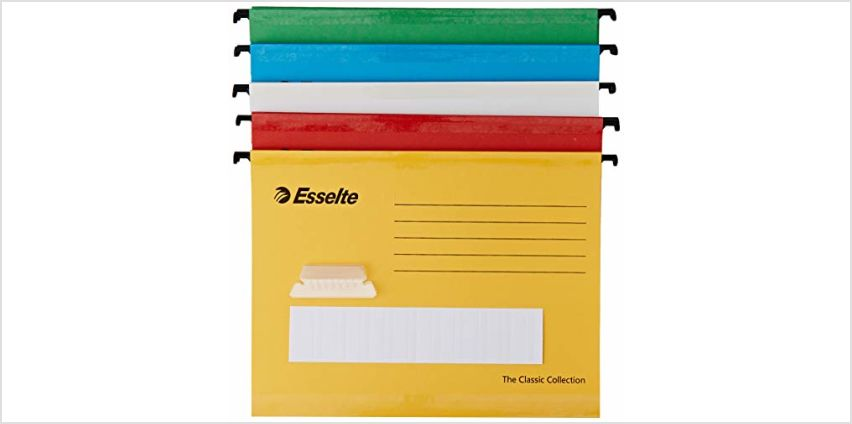 Up to 10% off Rexel, Esselte and Leitz Folders from Amazon