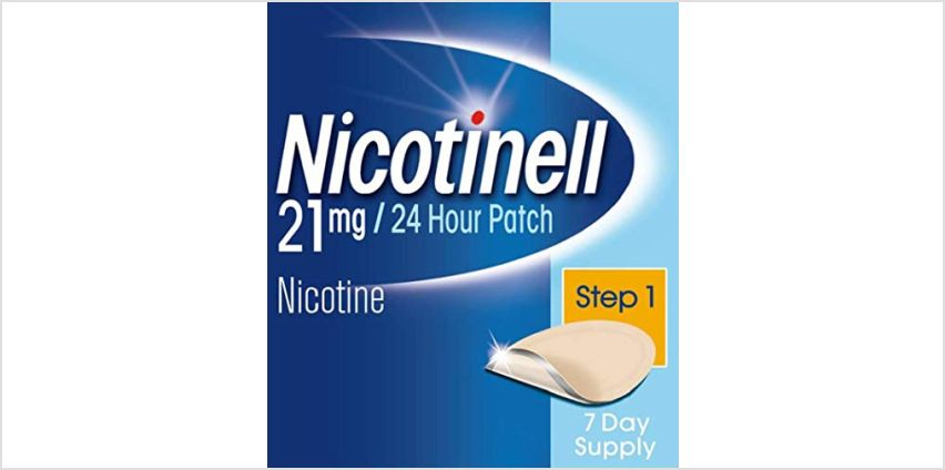 Up to 42% off Nicotinell from Amazon