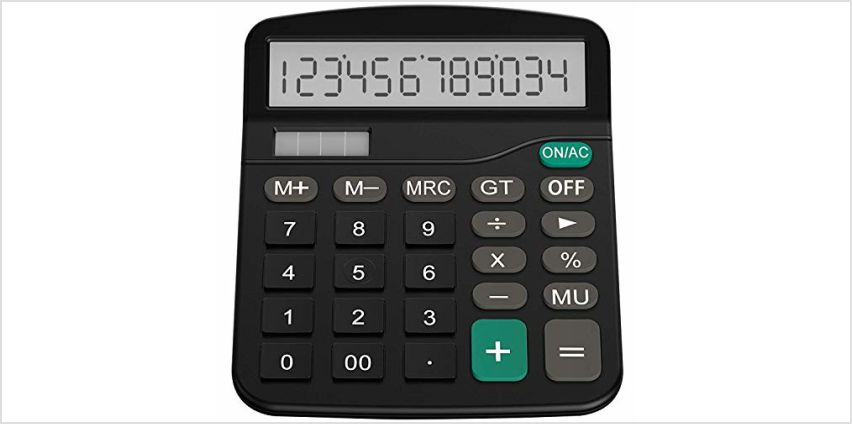 Helect Calculator, Standard Function Calculator black from Amazon