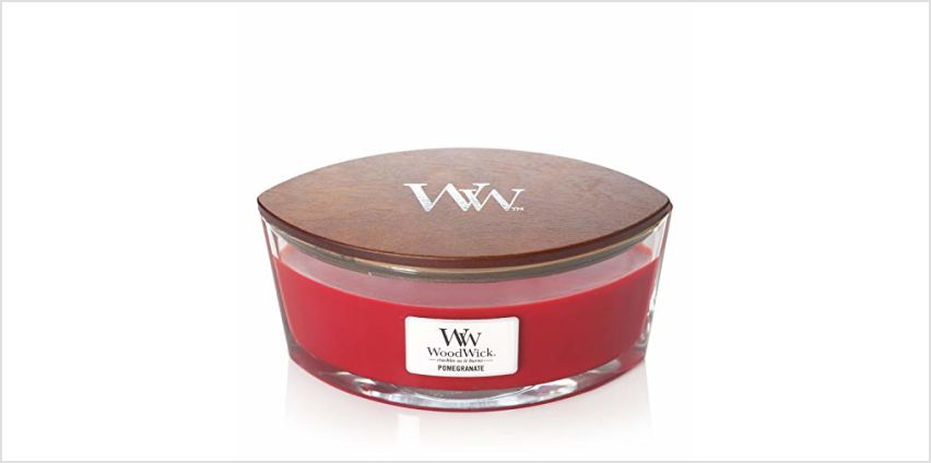 15% off Woodwick Ellipse Candles from Amazon