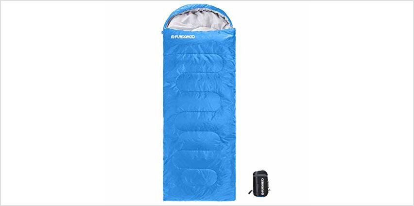 FUNDANGO Sleeping Bag Adults/Kids Lightweight Rectangular/Mu from Amazon