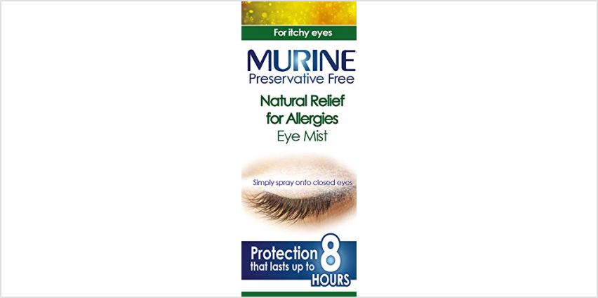 Save on Murine Natural Relief for Allergies Eye Mist, 15 ml and more from Amazon