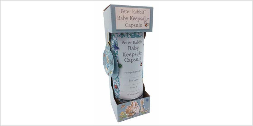 Peter Rabbit Baby Keepsake Capsule by Robert Frederick from Amazon