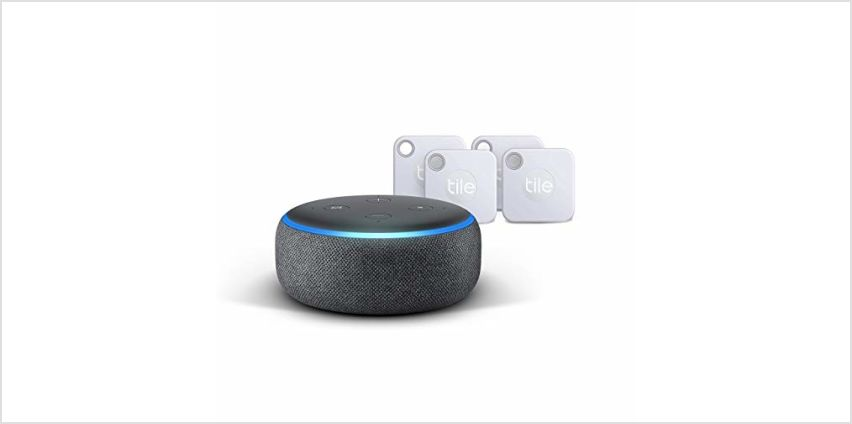 Up to 48% off Tile 4 packs & Echo Dot from Amazon