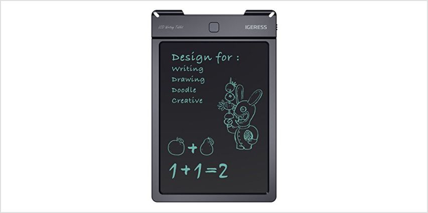 IGERESS 9-inch LCD Writing Tablet Electronic Writing Board Digital Drawing Board Graphic Drawing Tablet from Amazon