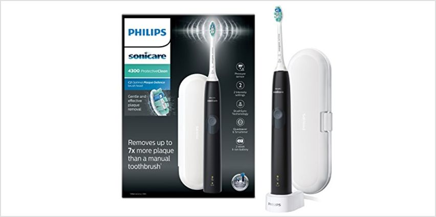Philips Sonicare ProtectiveClean 4300 Electric Toothbrush from Amazon