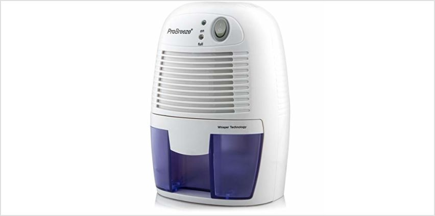 Pro Breeze 500ml Compact and Portable Dehumidifier from Amazon