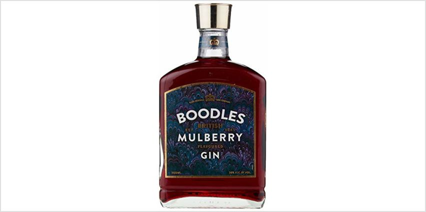Save on Boodles Gin and Boodles British Mulberry Gin from Amazon