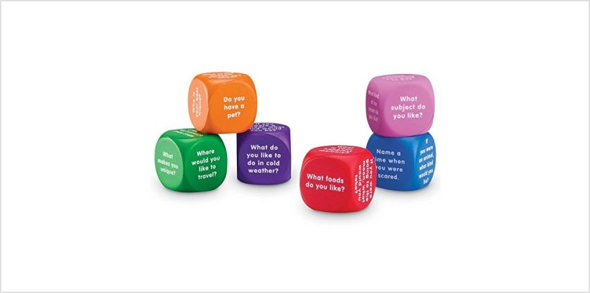 Learning Resources Conversation Cubes from Amazon
