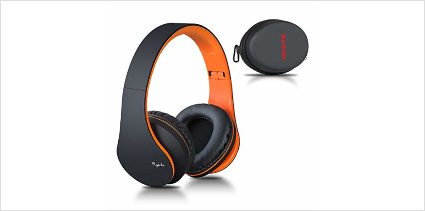 Wireless Bluetooth Headphones Over Ear, Rydohi Hi-Fi Stereo Headset with Deep Bass, Foldable and Lightweight, Wired and Wireless Modes Built in Mic for Cell Phones, TV, PC and Traveling from Amazon