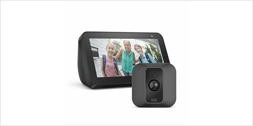 Save up to £139.99 on Blink XT2 camera systems + Echo Show 5 from Amazon