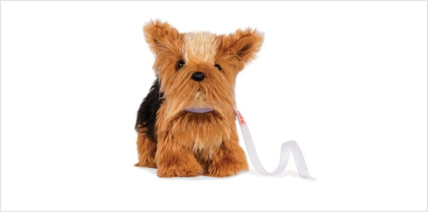 Our Generation Yorkshire Dog, bd37796z from Amazon
