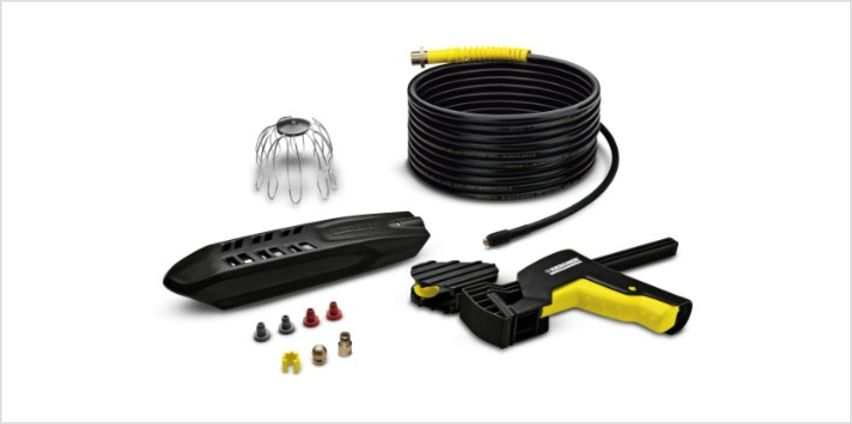 Save 10% off selected Karcher Pressure Washer Accessories from Amazon