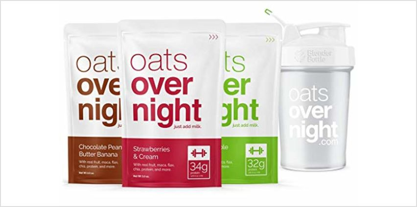 20% off Oats Overnight from Amazon