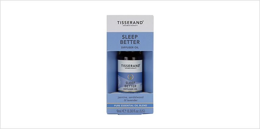 Save on Tisserand Sleep Better Diffuser Oil, 9ml and more from Amazon