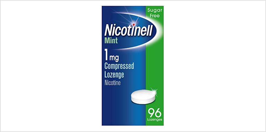 Up to 40% off Nicotinell selected products from Amazon