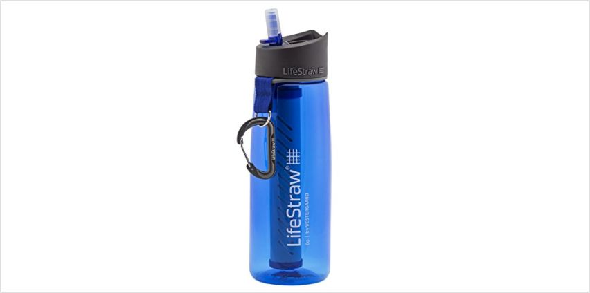 Save on LifeStraw® Unisex's Go 2-Stage Filter Bottle, Blue, One size and more from Amazon