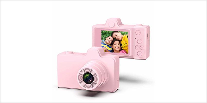 TRD Kids Digital Camera 2.0 inch IPS Screen 8MP Video Digita from Amazon