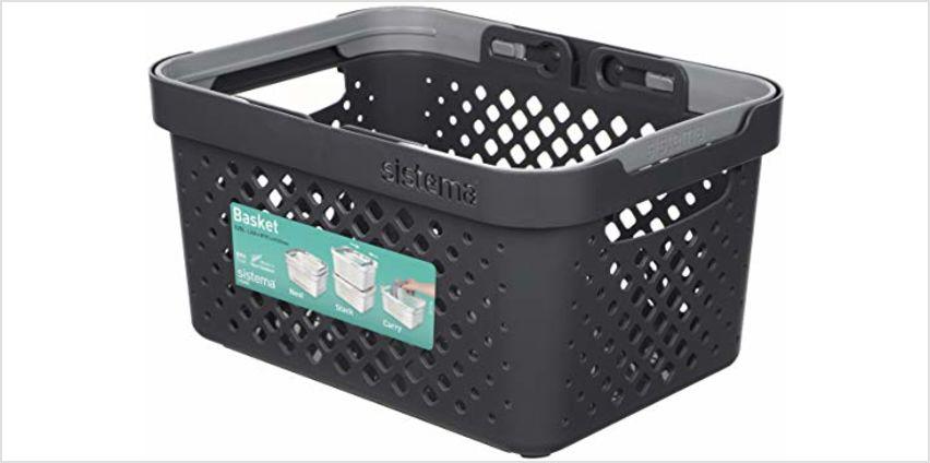 Save on Sistema Storage Baskets from Amazon