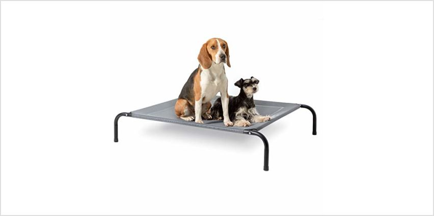 Bedsure Elevated Dog Bed - Waterproof Raised Cooling Bed Large, Medium, Small Size from Amazon