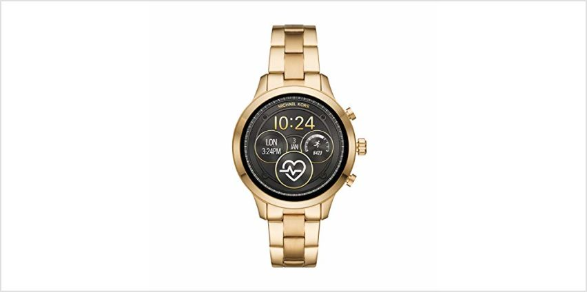 Save on Michael Kors Womens Smartwatch with Stainless Steel Strap MKT5045 and more from Amazon