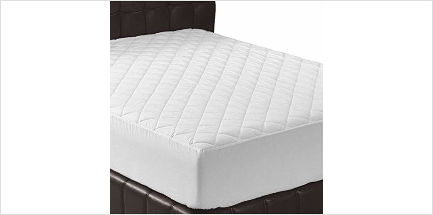 Utopia Bedding Quilted Fitted Mattress Protector/Pad - Mattress Cover Stretches up to 38 CM Deep from Amazon