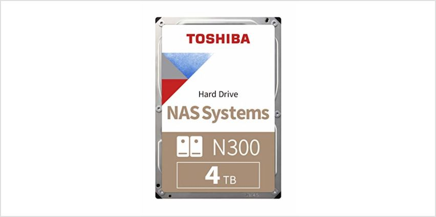 10% of Toshiba NAS Drives from Amazon