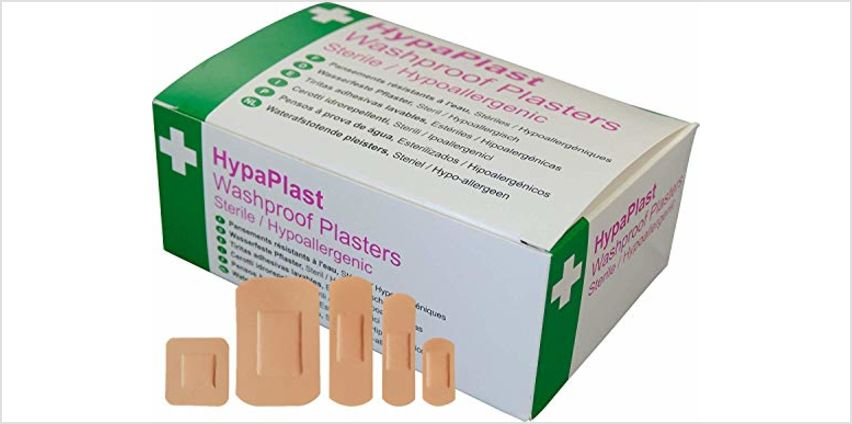13% off Plasters, Tape, Nitrile Gloves from Amazon