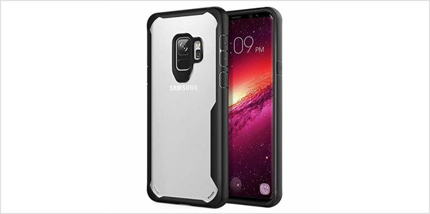 Galaxy S9 Case, ORETECH Ultra-Hybrid Transparent Samsung S9 from Amazon