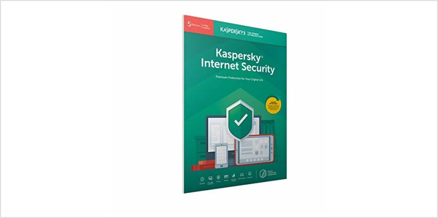 Up to 40% off Kaspersky Internet Security Software from Amazon