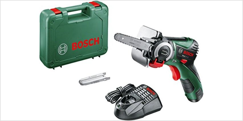 Bosch EasyCut 12 Cordless Nano Blade Saw with 12 V Lithium-Ion Battery from Amazon