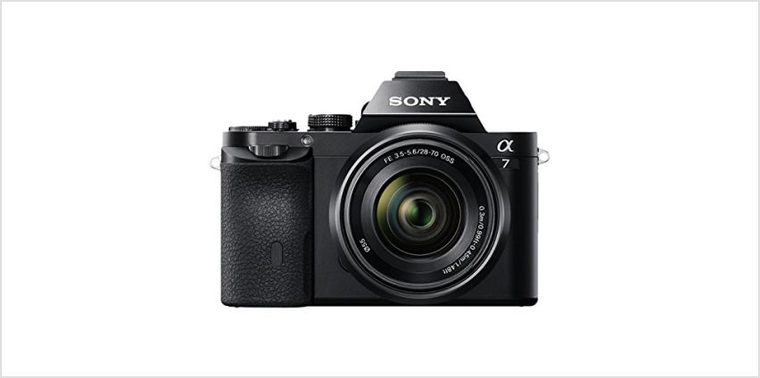 Up to 40% off Sony cameras, lenses and camcorders from Amazon