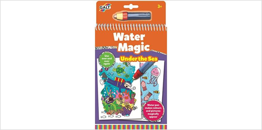 Galt Toys Water Magic Under The Sea, Colouring Book for Children from Amazon