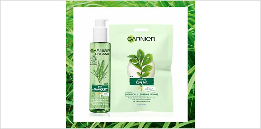 20% off Garnier Organic Skin Care from Amazon
