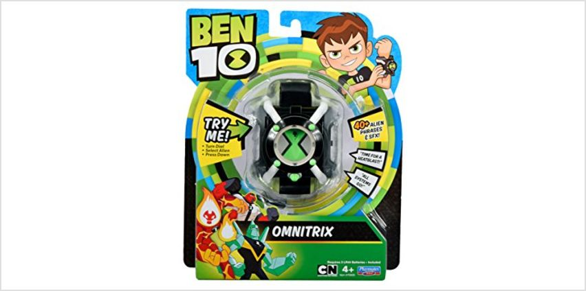 Save on Ben 10 BEN04412 Omnitrix Basic and more from Amazon