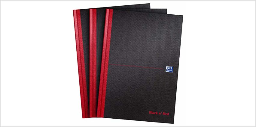 25% off Oxford Black n' Red notebooks from Amazon