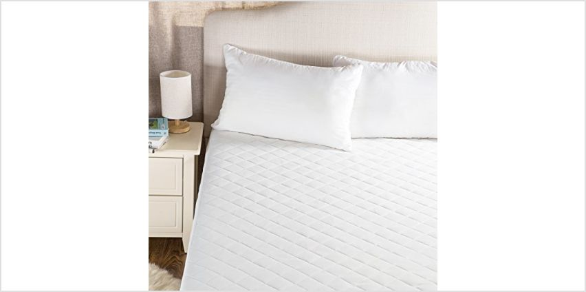 Bedsure Waterproof Mattress Protector Hypoallergenic Quilted Mattress Cover with Stretch Skirt from Amazon