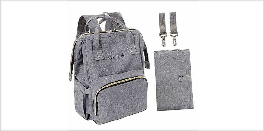 Velocity Bee Nappy Changing Backpack Bag with Changing Mat ( from Amazon