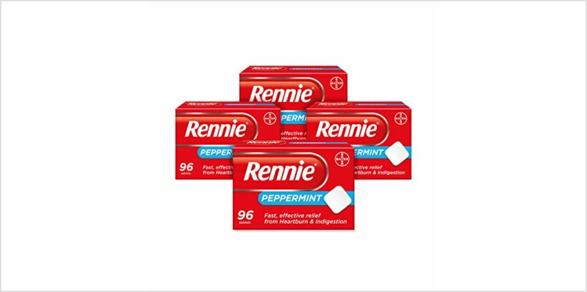 Up to 20% on Rennie Heartburn Tablets  from Amazon