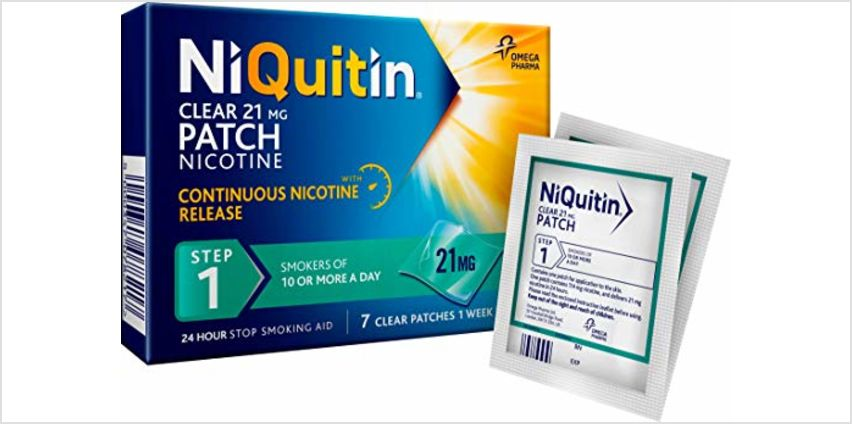 Up to 35% off NiQuitin from Amazon
