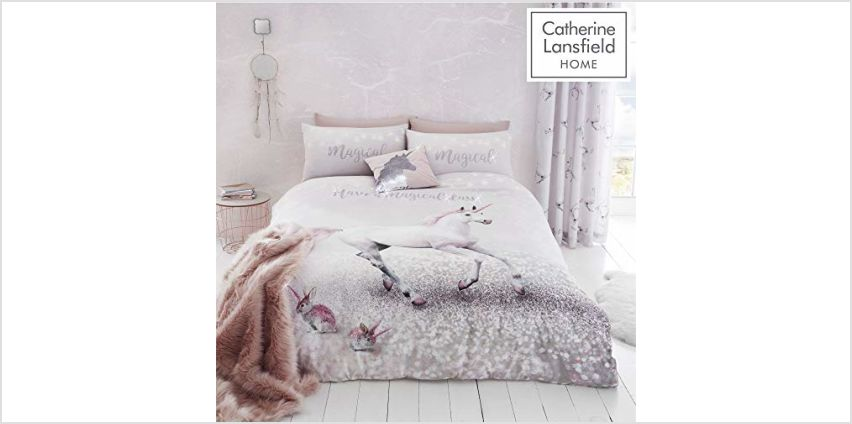 Up to 30% off Catherine Lansfield Kids Bedding from Amazon