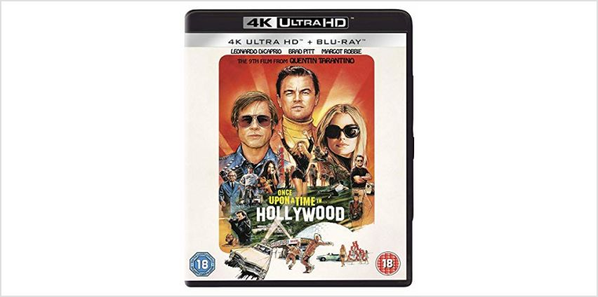 Save on Once Upon a Time in... Hollywood [Blu-ray] [2019] [Region Free] and more from Amazon