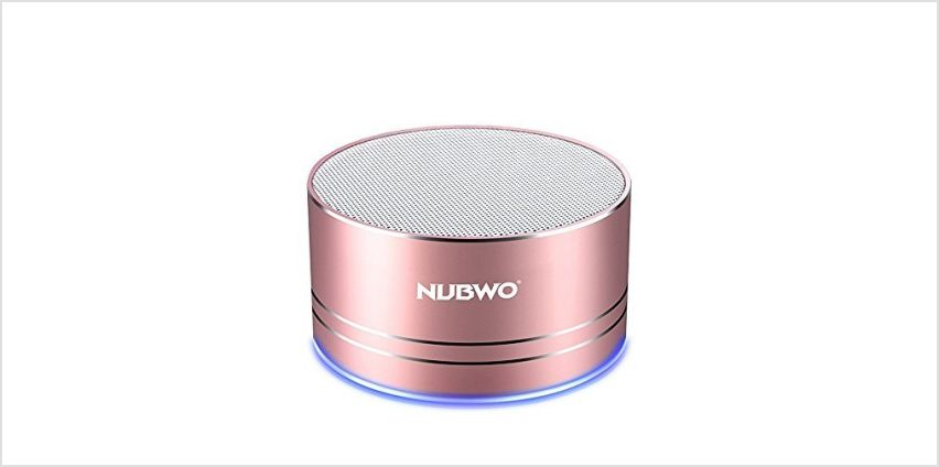 NUBWO Mini Wireless Bluetooth Speaker Portable - Black from Amazon