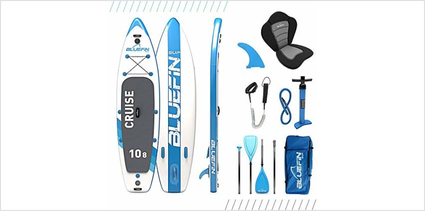 20% off Bluefin SUP Inflatable Stand Up Paddle Boards from Amazon