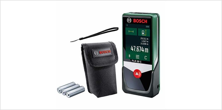 15% off Bosch Measuring Tools from Amazon
