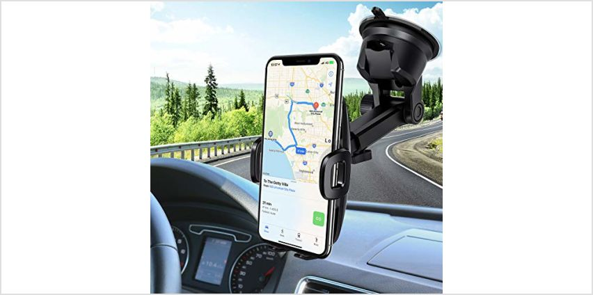 Mpow Car Phone Holder,Dashboard/Windshield Mobile Phone Car Cradles, Washable Gel Pad Car Phone Mount Compatible iPhone 11Pro Max/11 Pro/XR/XSMax/X/8,Galaxy S10/S9/S8/S7,Google, HTC, LG etc from Amazon