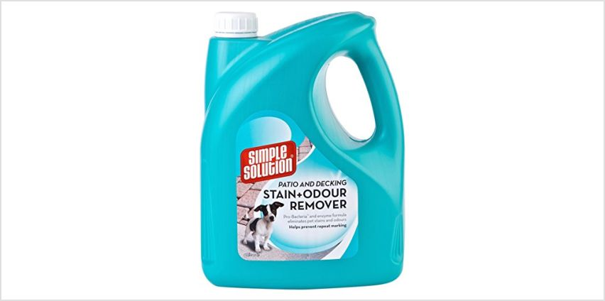 Up to 20% off Simple Solution Odour and Stain Removers from Amazon
