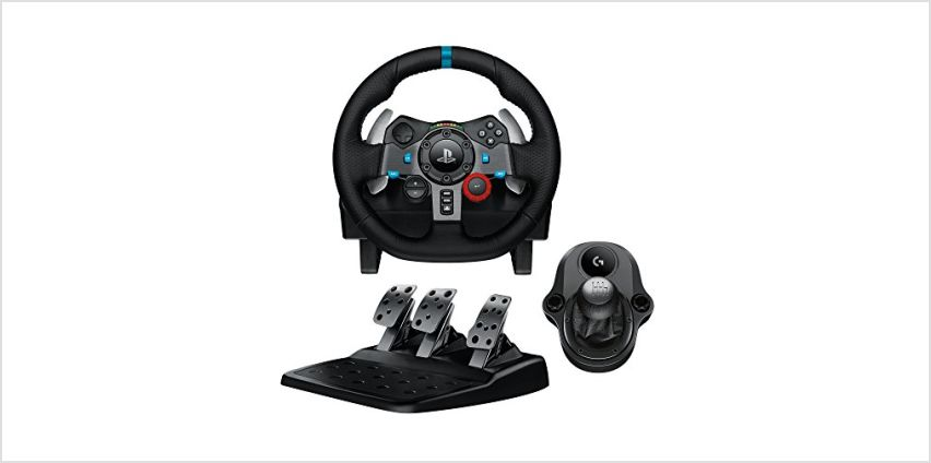 10% off Logitech Gaming Wheels from Amazon