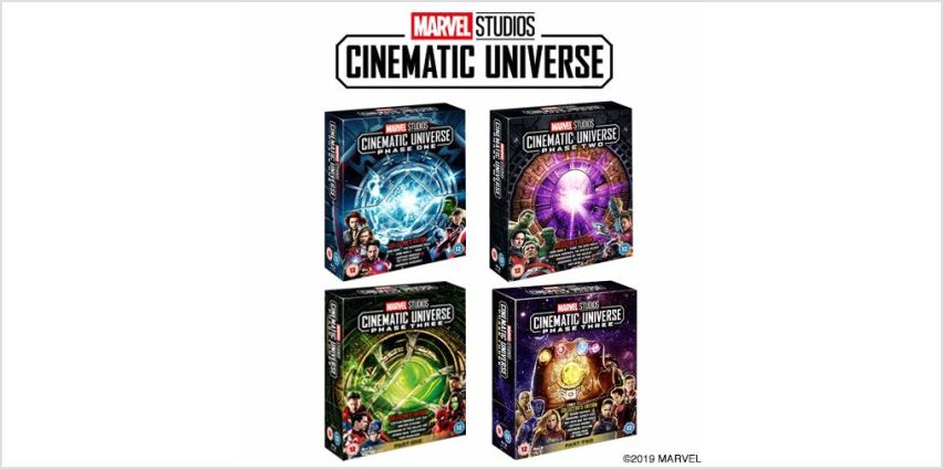 Save on Marvel's Infinity Saga Complete Boxsets from Amazon