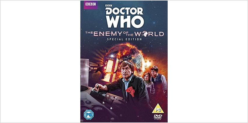Save Up to 15% off Doctor Who Titles from Amazon